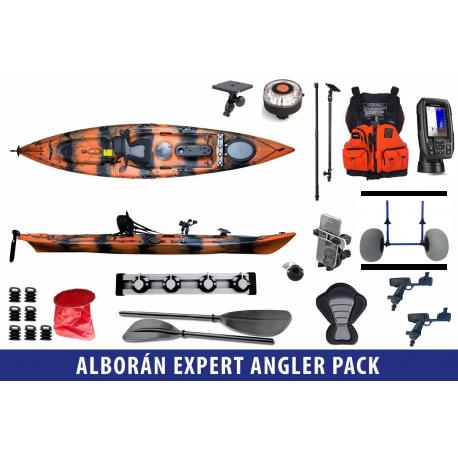 Alborán Expert Angler Pack - Galaxy Kayaks