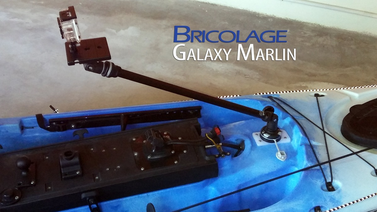 Instalación Camera boom RailBlaza en Galaxy Marlin