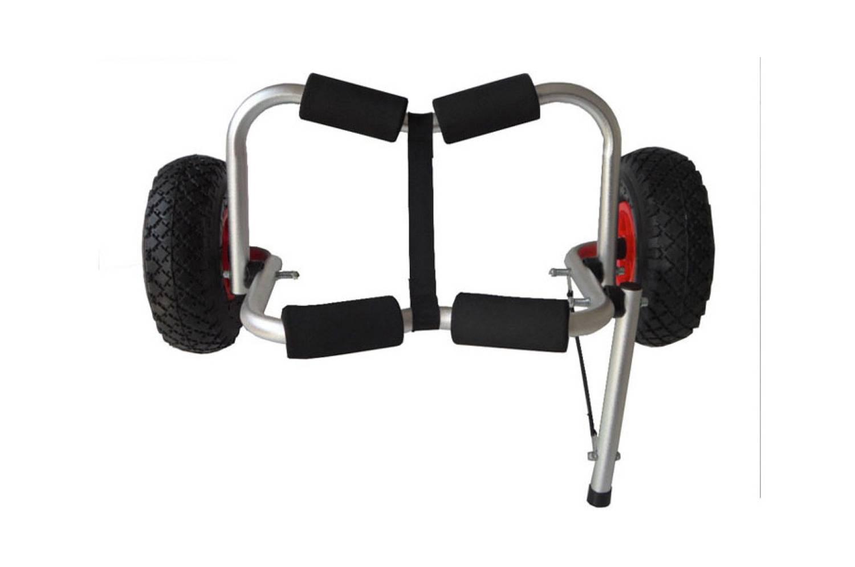 Ruedas para kayak carrito con ajustes por orificios for Sillas para kayak