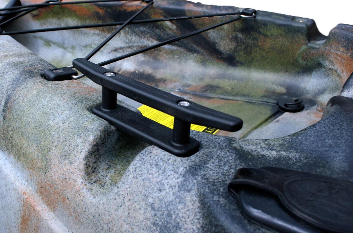 Cornamusa de anclaje para Kayak