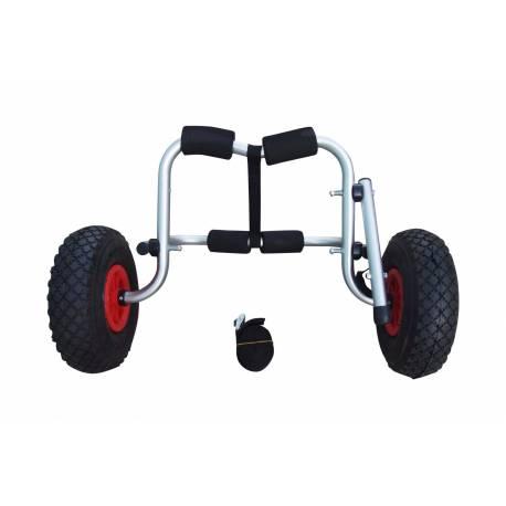 Carrito de transporte para Kayak con cintas