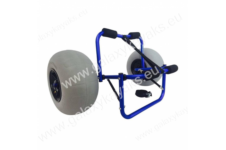 Lazy boys carro para kayak con ruedas de globo for Sillas para kayak