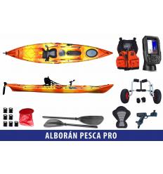 Pacote Combinado Alboran Pesca Pro