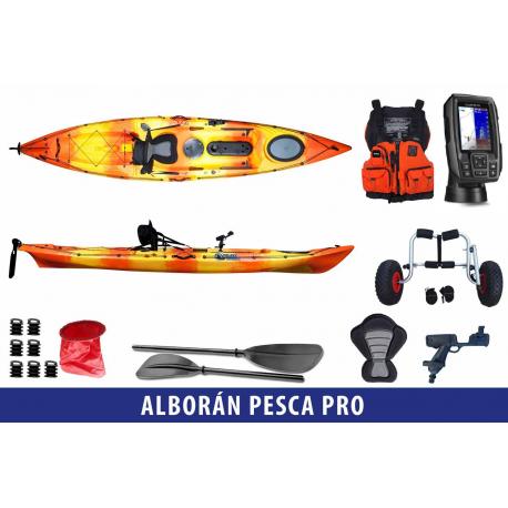 Galaxy Kayaks Alborán Pack Pesca PRO