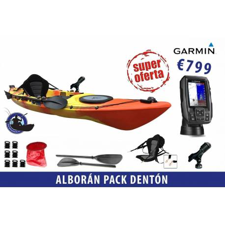 Galaxy Kayaks: Alboran Pack Denton