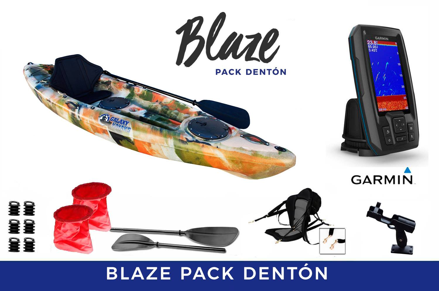 Blaze Fisher Pack Dentón