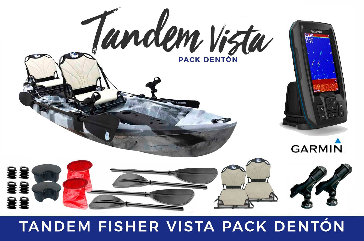 Tandem Fisher Vista Pack Denton
