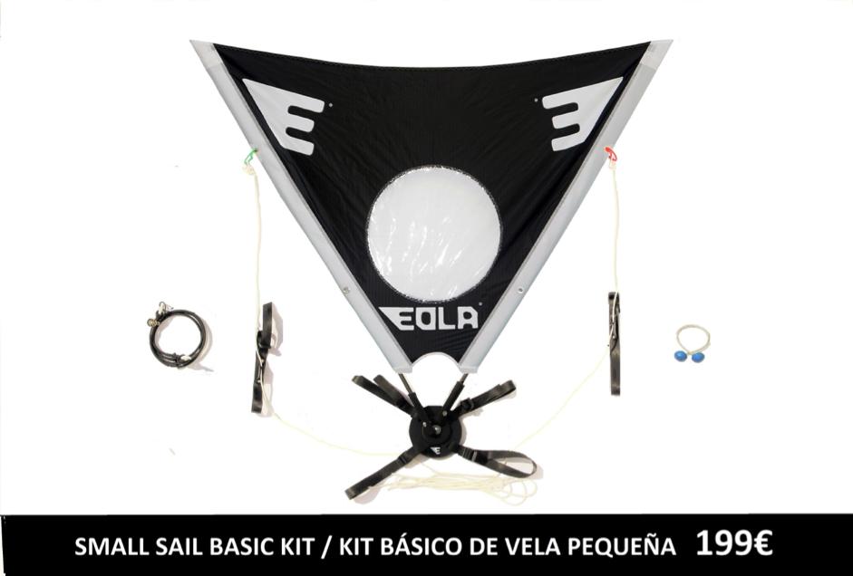 Vela Eola - Kit Basico Vela Pequeña