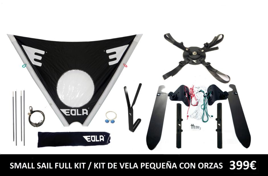 Vela Eola - Kit Completo Vela Pequeña