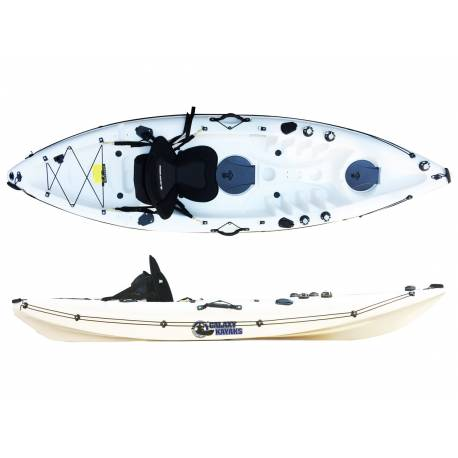Galaxy Kayaks Cruz Individual kayaks de pesca