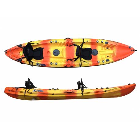 Galaxy Kayaks Cruz Tandem kayaks for leisure
