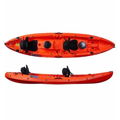 Galaxy Kayaks Cruz FIsher Tandem kayaks de pesca