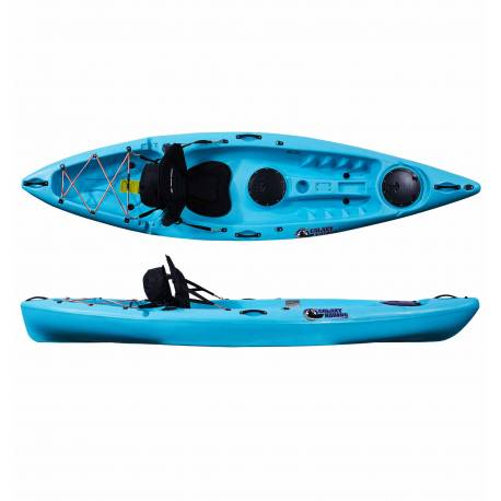 Galaxy Kayaks Blaze Fisher kayak de fishing