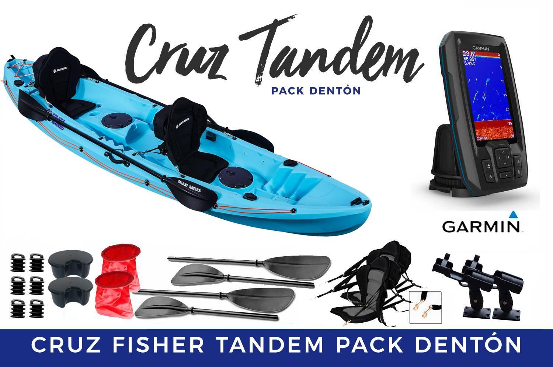 Cruz Fisher Tandem Pack Dentón