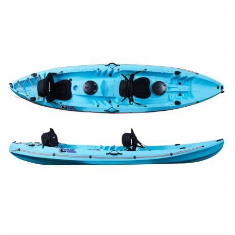 Galaxy Kayaks Cruz Tandem kayaks for leisure
