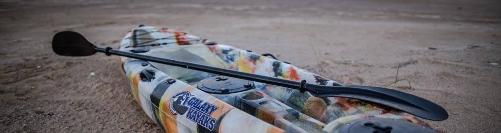 Paddles for kayaks