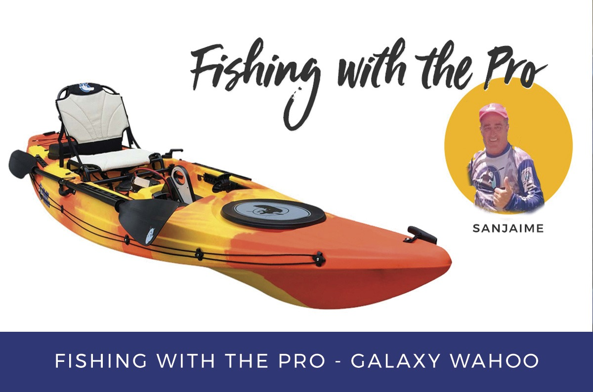 Fishing with the pro - Galaxy Wahoo