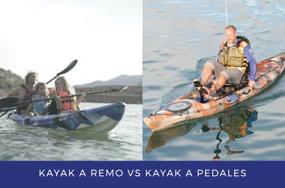 Paddle Kayaks Vs. Pedal Kayaks: A Comprehensive Review